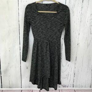Topshop Long sleeve T shirt dress Size 2